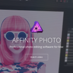 【画像編集ソフト】 Affinity Photo 買っちゃった。せっかくPhotoshop解約したのに。