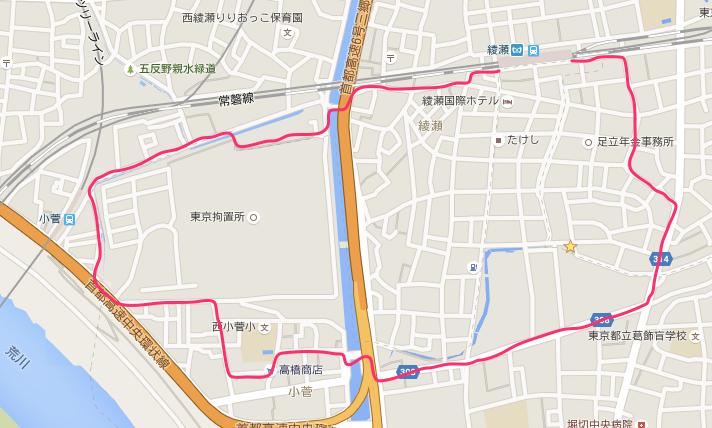 散歩ルート