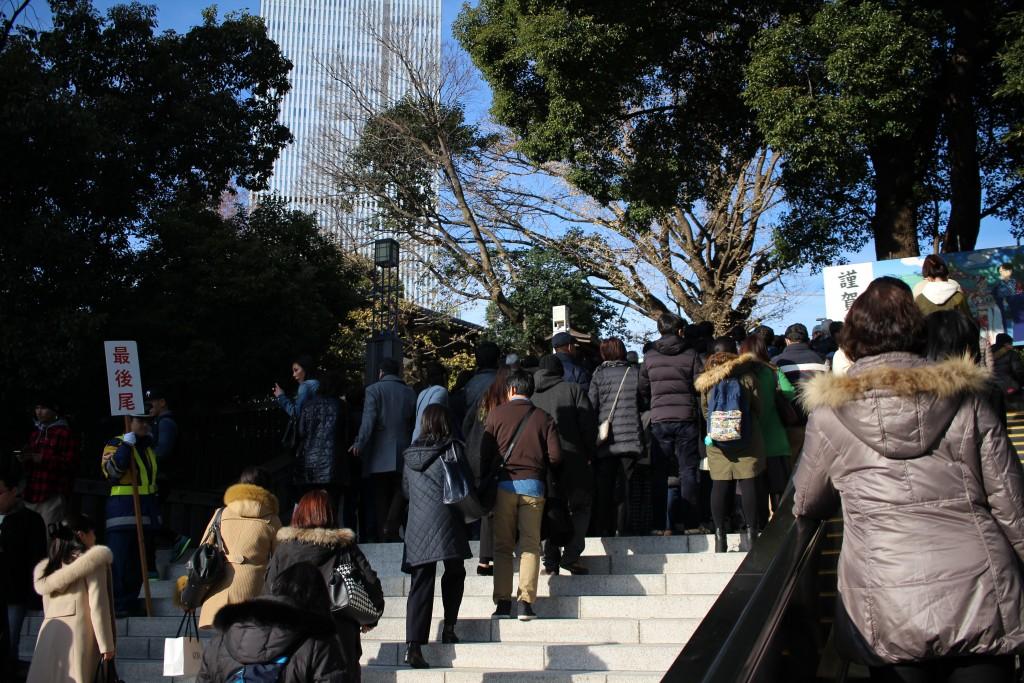 日枝神社の行列