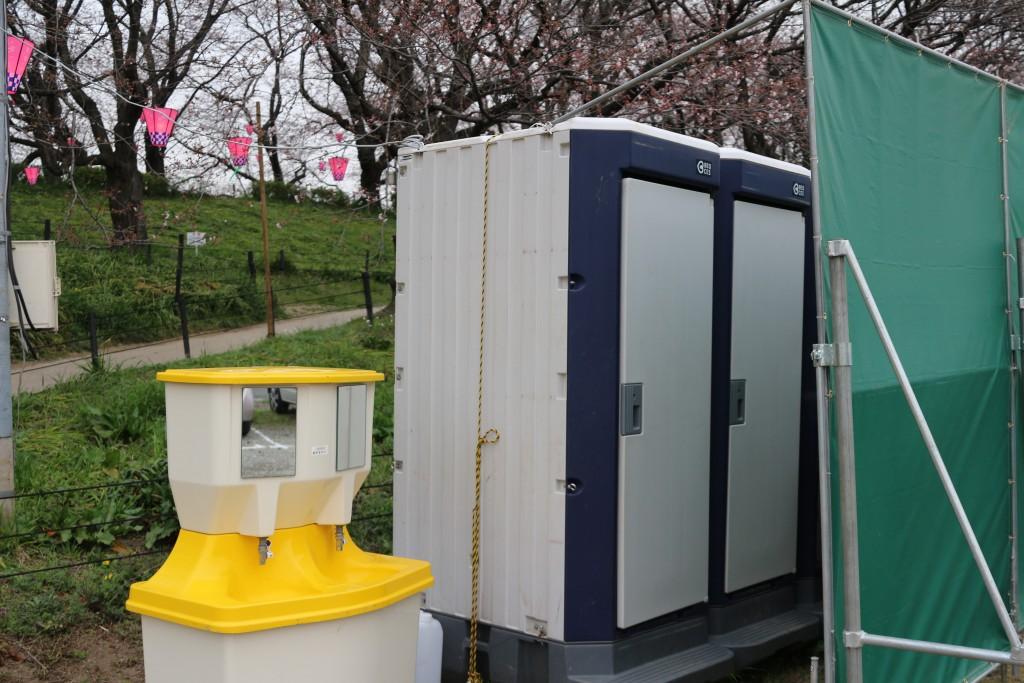 仮説トイレ