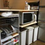 【超簡単DIY】ニトリのカラーボックスで キッチンカウンター を自作しました