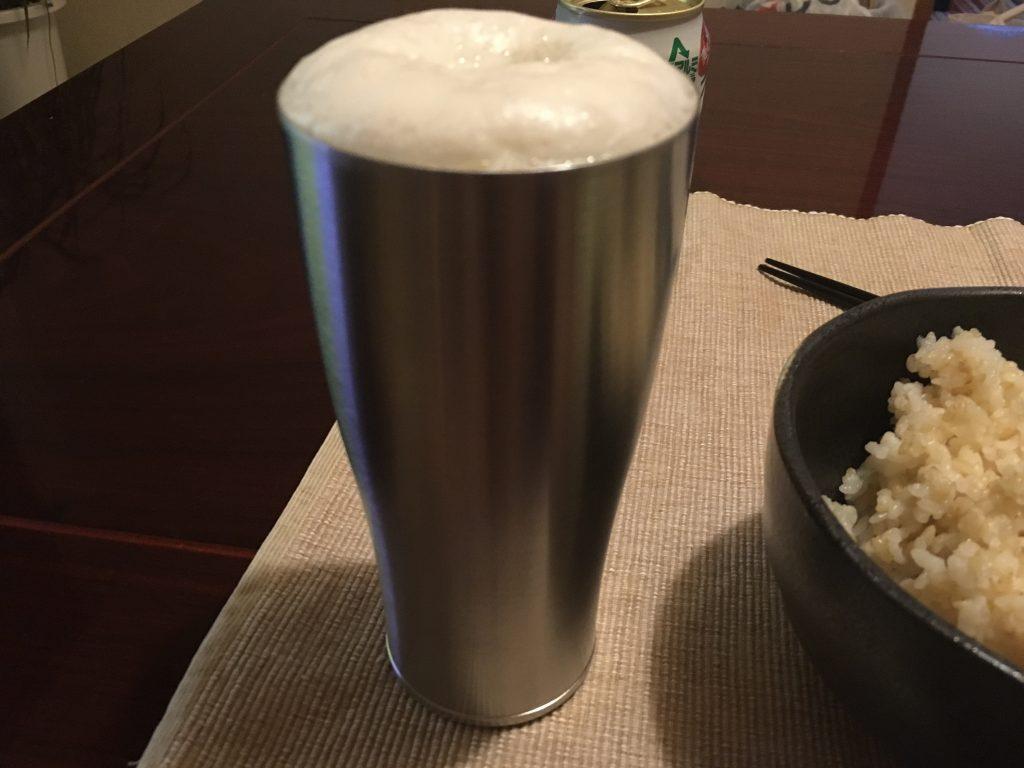 サーモスとビール2