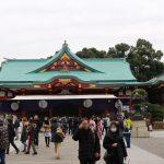 【 初詣 】元旦から一週間後の日曜日の日枝神社赤坂の 混雑具合 はどんな感じ?
