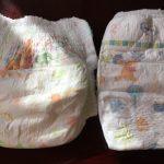 オムツの テープ と パンツタイプ はどっちがお得?ムーニーで価格・吸水量・大きさを比較