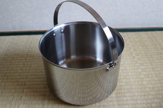 ステンレス大鍋
