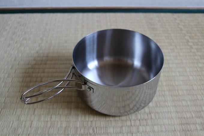 ステンレス片手鍋蓋なし