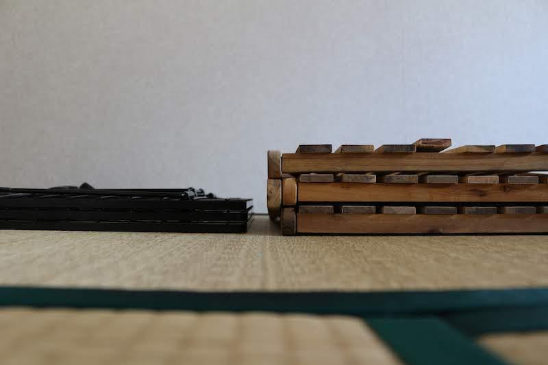 フィールドラックとキャプスタラックの厚みの差