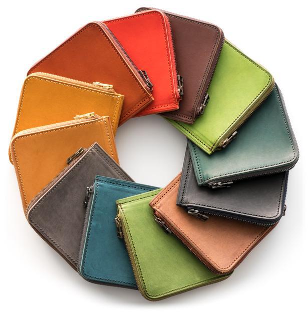 短財布《単》HITOE Short Walletのカラーバリエーション