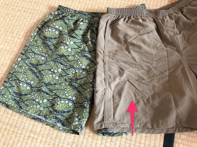 左右のポケット