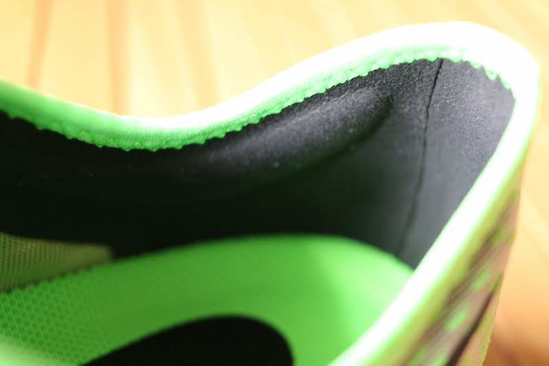 ペガサスターボ2踵のフィット
