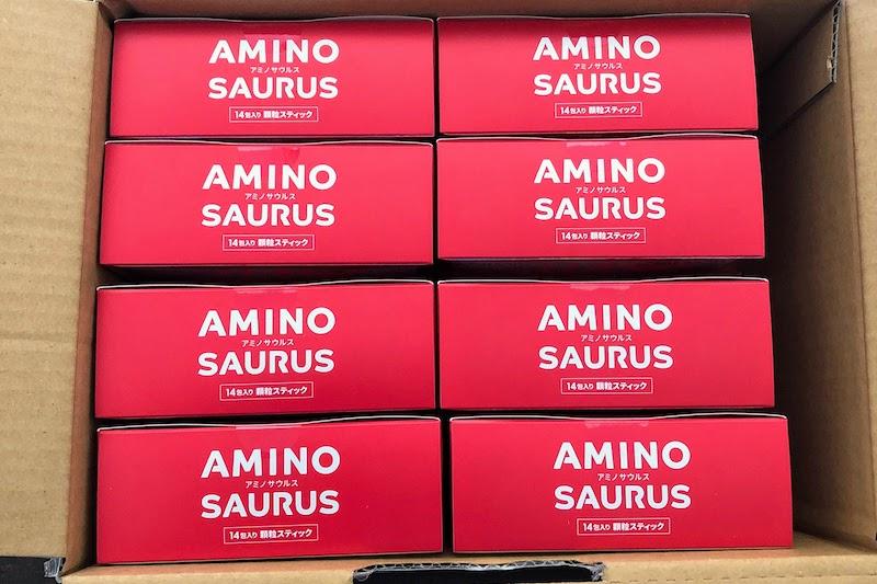 アミノサウルスまとめ買い